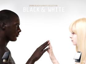 BLACK & WHITE 모델 사진