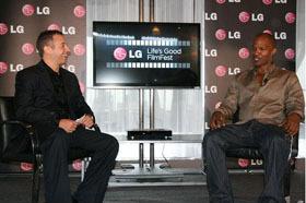 LG Life's Good 필름 페스티벌 선포식에 참석한 영화배우 제이미폭스 사진