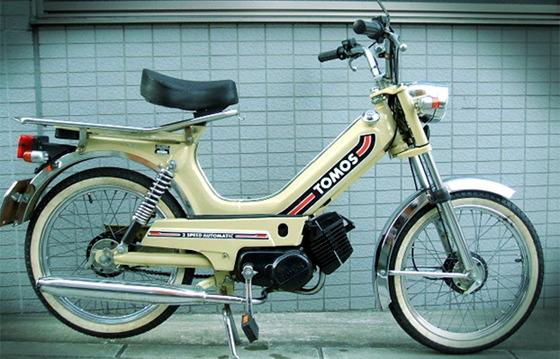 TOMOS 자전거 사진