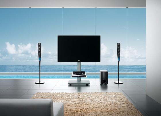 보더리스 LED LCD TV 제품 사진