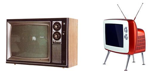 옛날 TV 사진