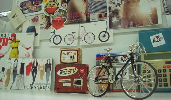 모형 자전거 사진