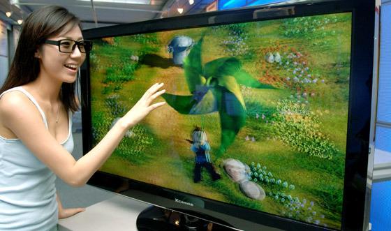 LG 3D TV 사진