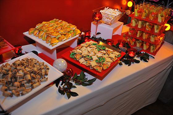 음식과 와인 사진