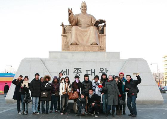 블로거들 단체 사진