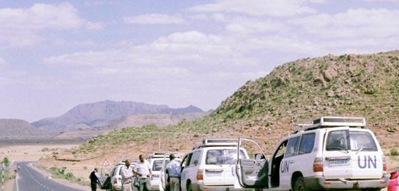 에티오피아 산골 전경