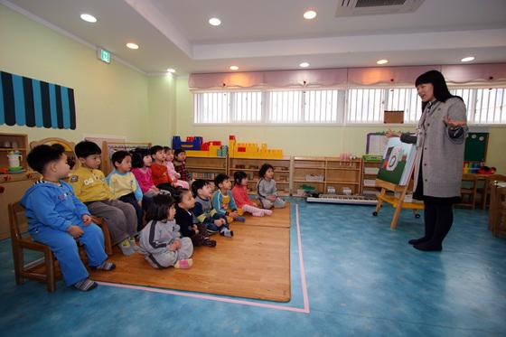 유치원 교육 현장