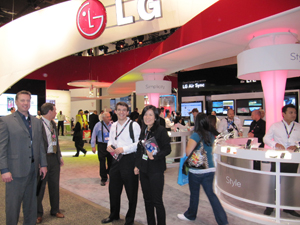 LG 부스 사진