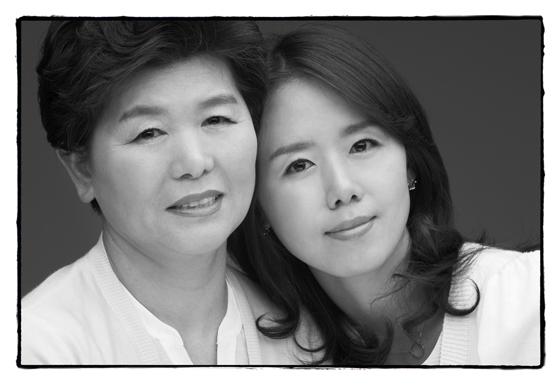 김효은씨 모녀 사진