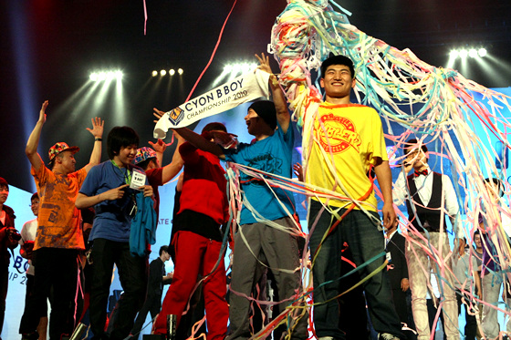 CYON 비보이 챔피언십 2010 현장