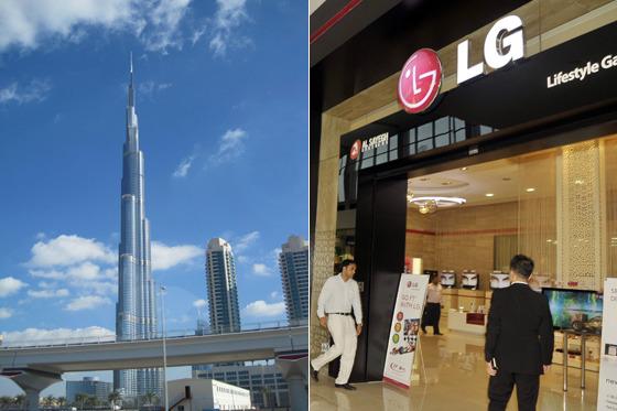 두바이 몰 전경
