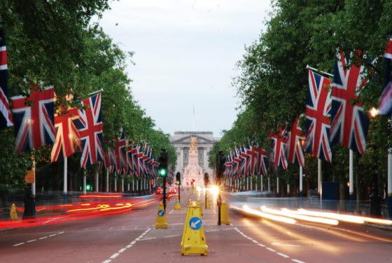 버킹엄 궁전 전경