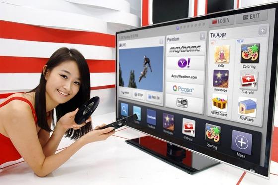 스마트 TV 제품 사진