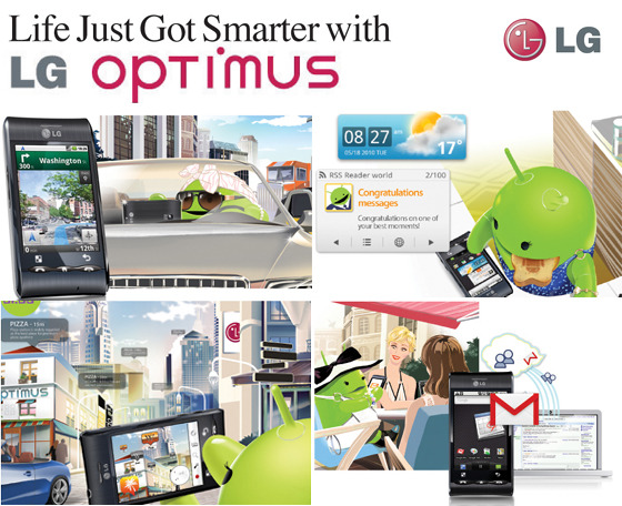 Life Just Got Smarter with LG OPTIMUS
