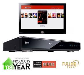 LG BD-300 with Netflix, 2008 제품 사진