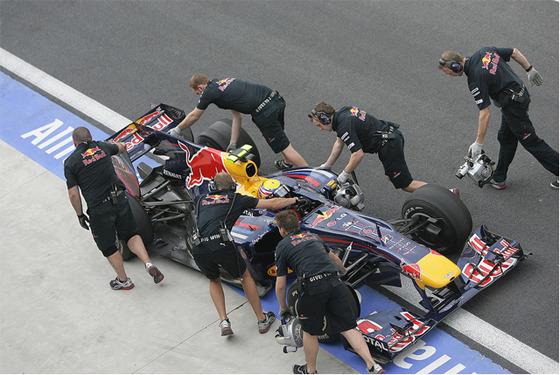 F1 경기 사진