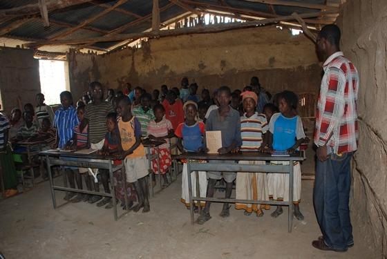 아프리카 교육 현장