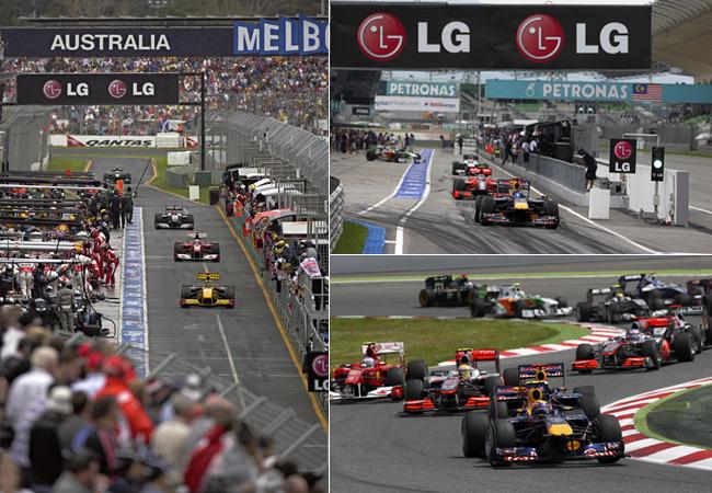 F1 경기 현장