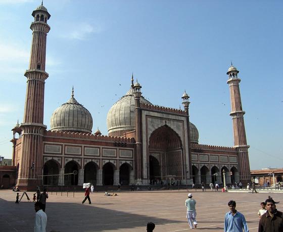 Jama Masjid 전경