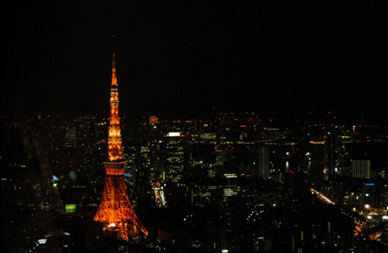 도쿄타워 전경