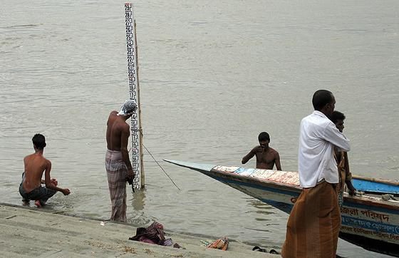 방글라데시 강 근처 사진
