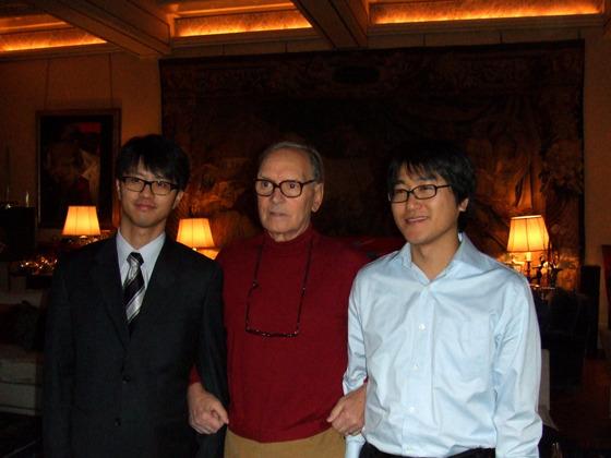 모리코네 선생님과 단체 사진