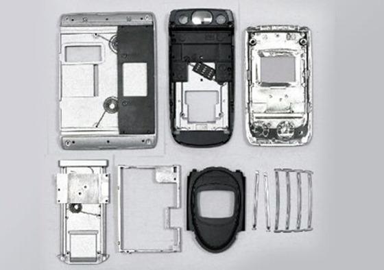 휴대폰 해부 사진