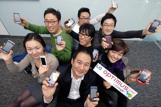 디자인팀 단체 사진
