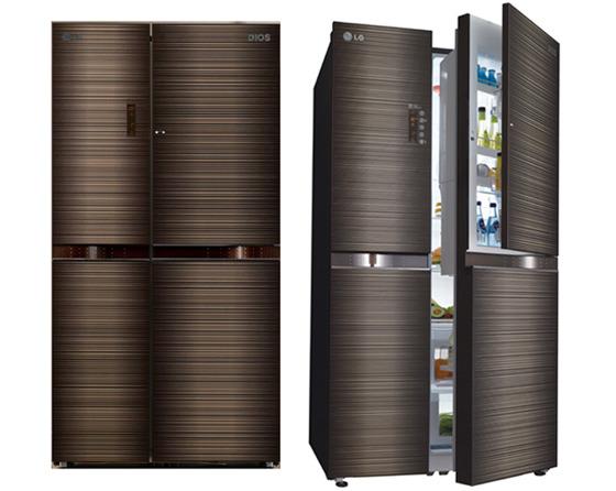 LG 디오스 냉장고 사진