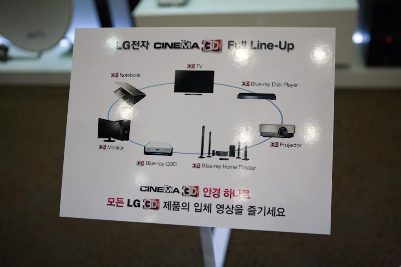 3D 안경 하나로 모든 LG 3D 제품의 입체 영상을 즐기세요