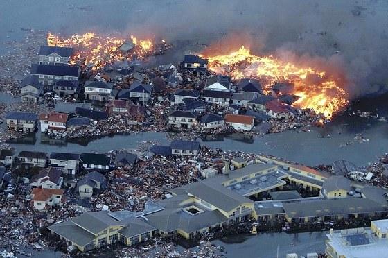 일본 피해 현장