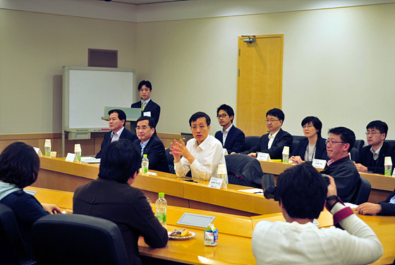 LG전자 MC캠퍼스 회의 현장