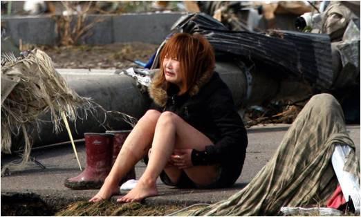 일본 지진 현장