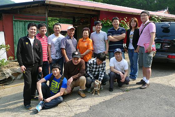 더 블로거 단체 사진