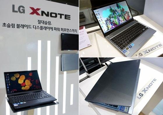 LG XNOTE 제품 사진