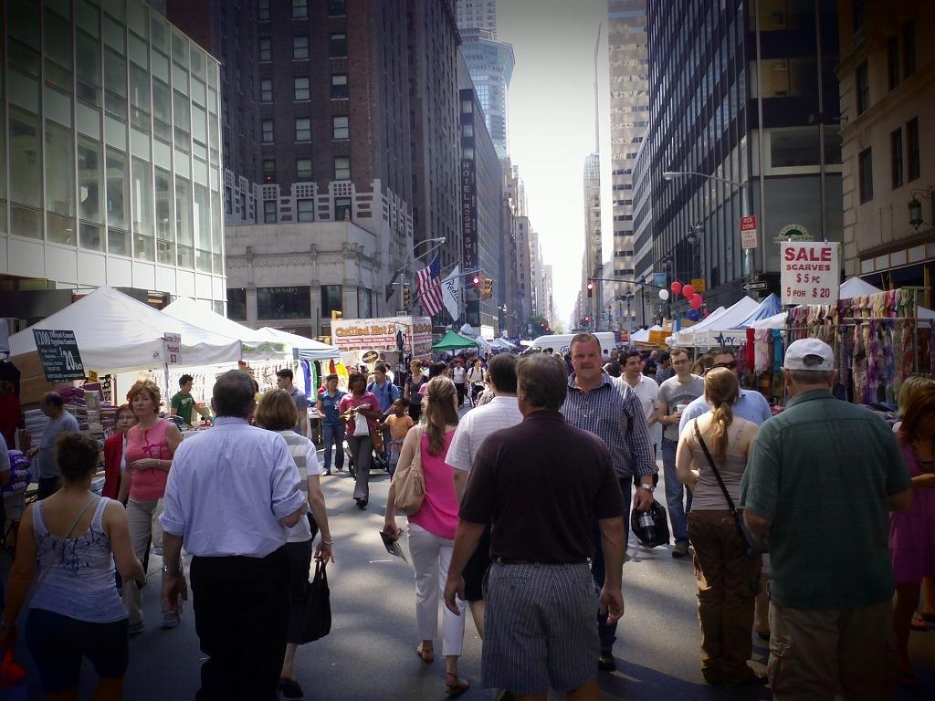 뉴욕 거리 사진