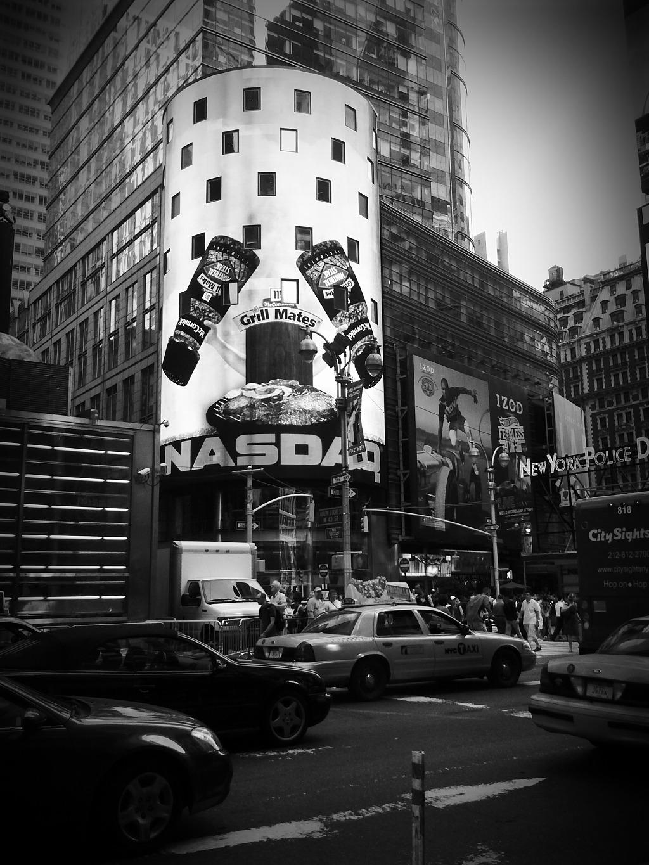 흑백필터 기능을 이용한 뉴욕 사진
