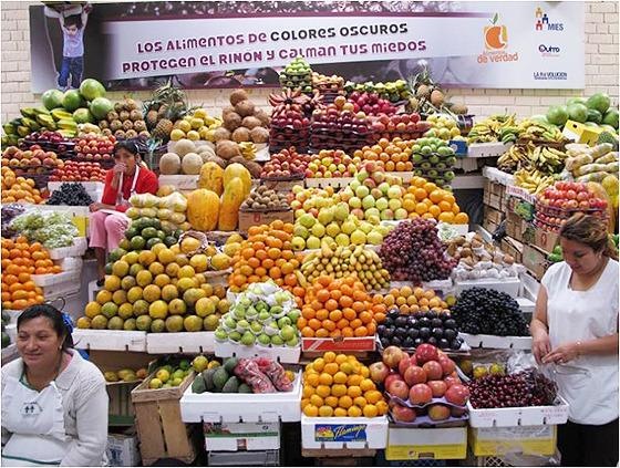 과일가게 사진