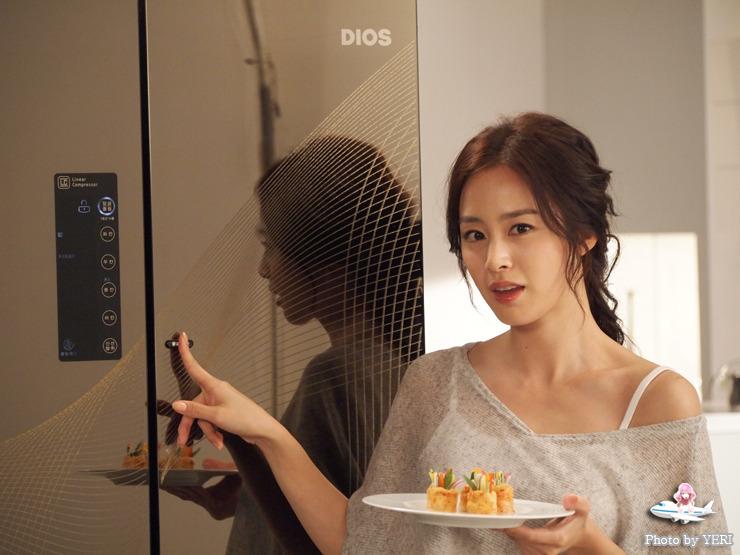 김태희 디오스 광고 사진