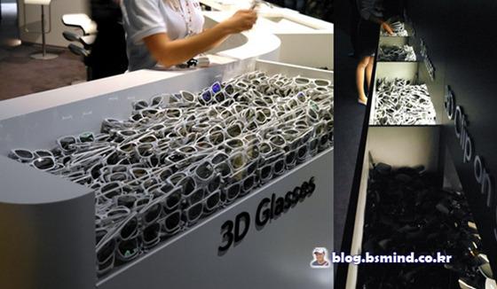 3D 전용 안경 사진