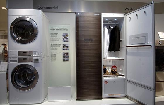 세탁기와 스타일러 사진