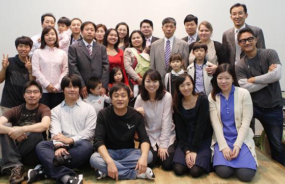 단체 사진