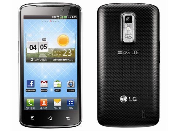 LG 옵티머스LTE 제품 사진