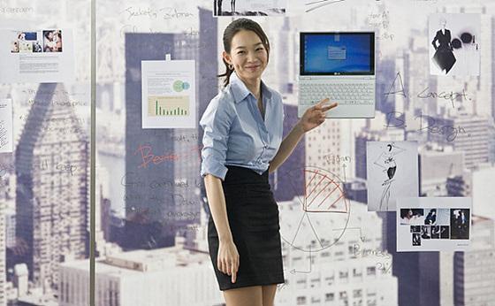 신민아 엑스노트 광고 사진