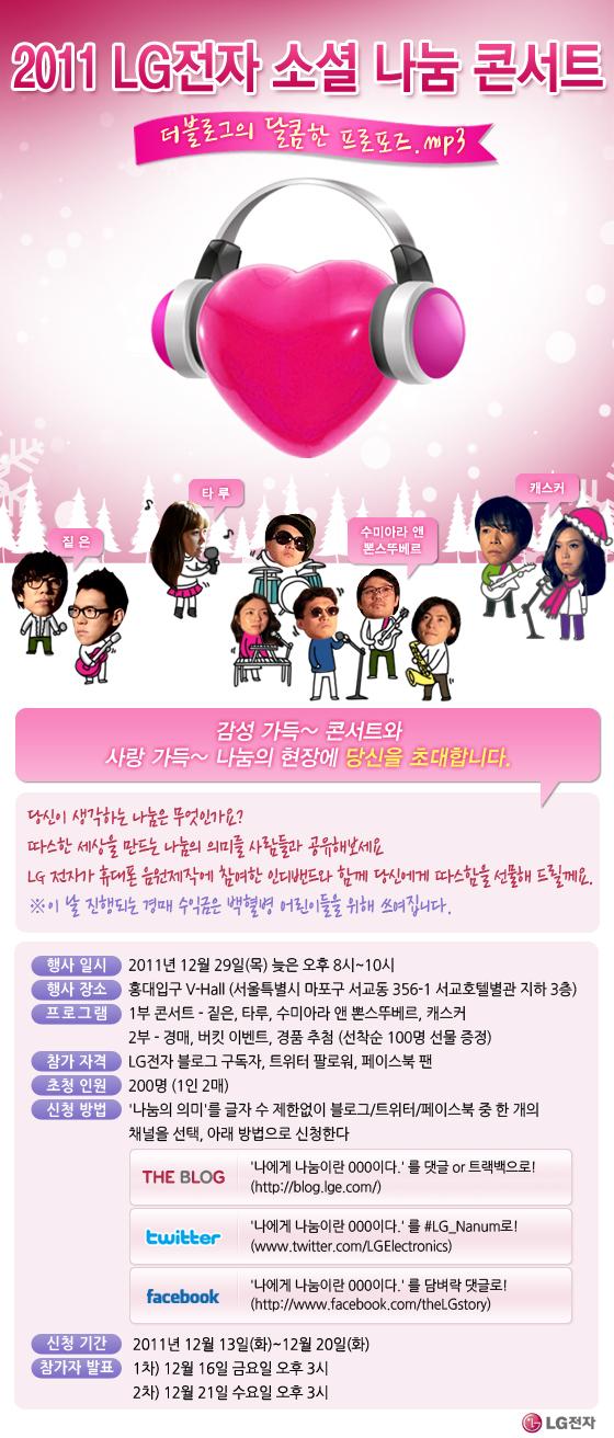 2011 LG전자 소셜 나눔 콘서트