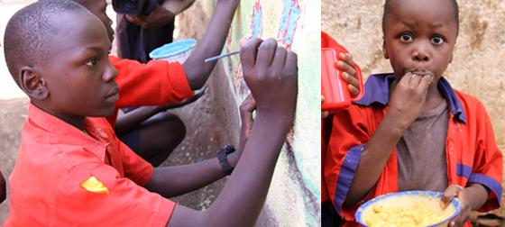 기근지역 아이들 사진
