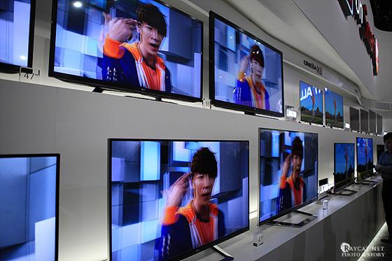 3D TV 전시 현장