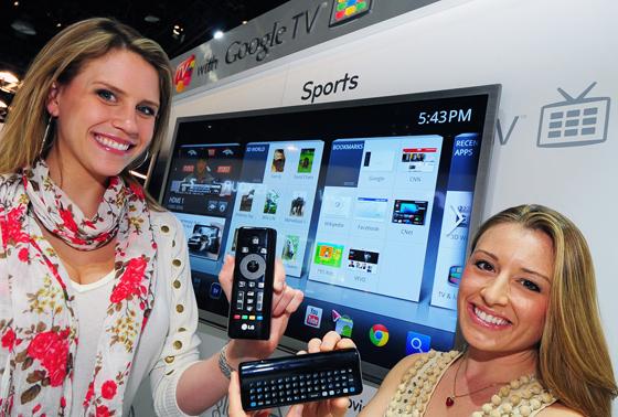 LG 구글 TV 소개 사진