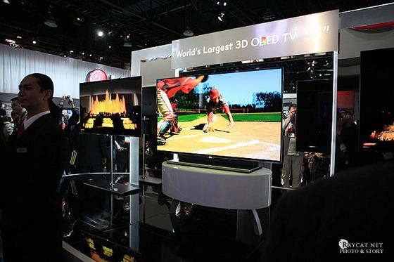 55인치 OLED TV 사진