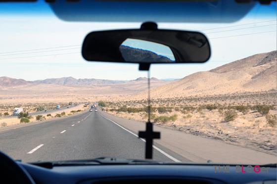 라스베이거스 사막 사진